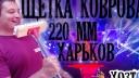 Щетка ковровая 220 мм. Без ручки (ЧП КВВ, Харьков). Видеообзор
